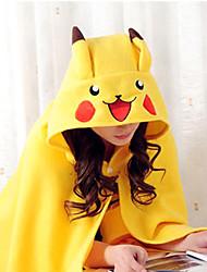 Kigurumi Pyjamas Pika Pika Kostume Koralfleece Kigurumi Trikot / Heldragtskostumer Cosplay Festival / Højtider Nattøj Med Dyr Halloween