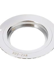 M42-EOS-Kamera-Objektiv-Adapter-Ring (Silber)