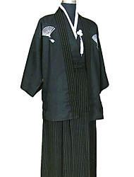 Soldato/Guerriero Ninja Costumi Cosplay Vestito da Serata Elegante Uomo Halloween Carnevale Feste/vacanze Costumi Halloween Tinta unita