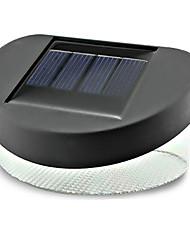 Outdoor 2LED Solar Power LED Fence Deck Pathway Yard Garden Lights Lamp (CIS-44432D)