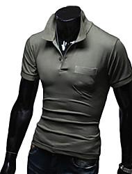 Homens Camisa de Trilha Ao ar livre para Exercício e Atividade Física Esportes Relaxantes