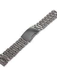 Men's Women's Watch Bands Stainless Steel #(0.063) Watch Accessories