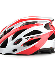 MOON Unisex Fahhrad Helm 21 Öffnungen Radsport Radsport Bergradfahren Straßenradfahren Freizeit-Radfahren L: 58-61cm M: 55-58cm PC EPS