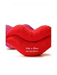 Gifts Bridesmaid Gift Personalized Lip Shaped Arm Pillow (More Colors)