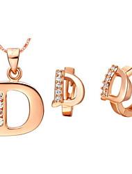 Gioielli Set Per donna Anniversario / Compleanno / Regalo / Festa / Tutti i giorni / Occasioni speciali Parure di gioielli Oro / Argento