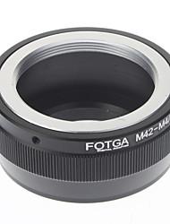 fotga® m42-m4 / 3 Adaptateur tube / extension de la lentille de l'appareil photo numérique