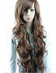cheap -synthetic wigs long wavy wigs full bang wigs 3 colors available