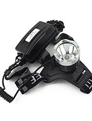 Torce frontali LED 900 Lumens 3 Modo Cree XM-L T6 18650 Campeggio/Escursionismo/Speleologia