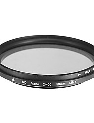 Draaibaar ND-filter voor camera (58mm)
