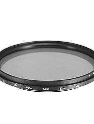 Rotatable ND Filter for Camera (67mm)