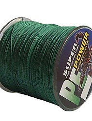 cheap -500M / 550 Yards PE Braided Line / Dyneema / Superline Fishing Line 40LB 30LB 0.26,0.28 mm 147 Sea Fishing Freshwater Fishing