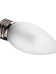 Недорогие -2.5W 90-100 lm E26/E27 LED лампы в форме свечи C35 25 светодиоды SMD 3014 Декоративная Тёплый белый AC 220-240V