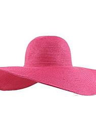 Недорогие -Женская мода Тропический цветочный ВС Hat