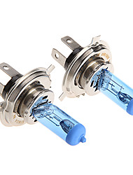 2 * H4 Xenon Halogen T10 HeadLight Bulb Kit 6000K 12V 100W for Motorcycle