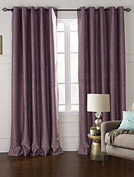 Two Panels Curtain Modern Living Room Polyester Material Blackout Curtains Drapes Home Decoration For Window