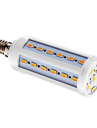 E14 LED-kolbepærer T 42 leds SMD 5730 Varm hvid 800lm 3000-3500K Vekselstrøm 220-240V