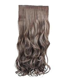 Sintetico di alta qualità da 20 pollici ondulata lunga parrucca Stlylish Hair Extension 3 colori disponibili