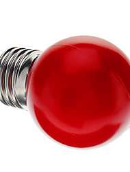 0.5W E26/E27 LED Globe Bulbs G45 7 Dip LED Red Decorative AC 220-240 V
