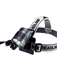 Headlamps LED 4000 Lumens 3 Mode Cree XM-L2 T6 Yes Rechargeable Waterproof for Camping/Hiking/Caving Cycling/Bike Multifunction