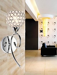 cheap -Crystal Wall Light , 1 Light , Creative Iron Painting