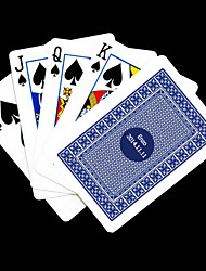 cheap -Personalized Gift Blue Check Pattern Playing Card for Poker