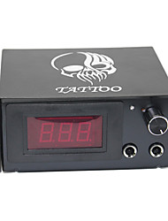 LCD Tattoo Machine Power Supply Digital professional power Clip Cord Foot Switch Power Plug