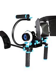 単純なC型ポータブルマットボックス、フォローフォーカスを持つデジタル一眼レフカメラショルダーリグの基本的なバージョンをyelangu®
