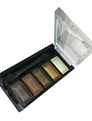 billiga -5 Färger Makeup Eye Shadow Palette (J034-06)