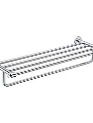 """levne -YALI.M®,Polička do koupelny Chrom Na ze´d 63x22.5x12.5cm(24.8""""x8.8""""x4.9"""") Mosaz Moderní"""
