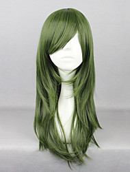 cheap -Cosplay Wigs Kagerou Project Saori Kido Green Medium Anime/ Video Games Cosplay Wigs 65 CM Heat Resistant Fiber Female
