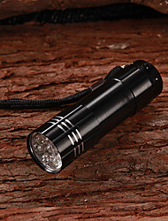 LED Flashlights/Torch Handheld Flashlights/Torch LED 100 Lumens 1 Mode - AAA Compact Size Small Size Multifunction