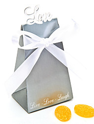 cheap -Creative Card Paper Favor Holder With Ribbons Favor Boxes-12
