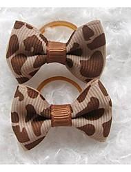 abordables -accesorios para el cabello perro pelo arco traje de perro ropa para mascotas
