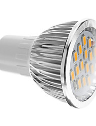 Недорогие -380 lm GU5.3(MR16) Точечное LED освещение 15 Светодиодные бусины SMD 5730 Тёплый белый 100-240 V
