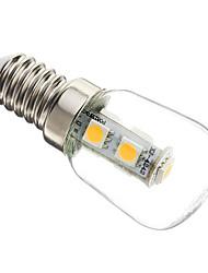 cheap -1W E14 LED Corn Lights T 7 leds SMD 5050 Decorative Warm White 60-70lm 2700-3200K AC 220-240V