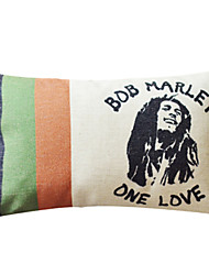 The Hero BOB MARLEY Linen Kast Dekorative Pillow Cover