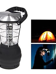 cheap -36 LED White Lights Hand Crank Solar Lantern Camping Lamp with Charger
