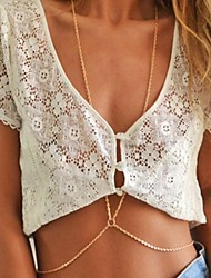 The European And American Wind Women Necklace The Body Chain