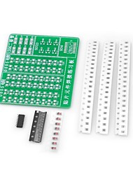 cheap -Diy Smd Soldering Skill Training Practice Pcb Board Kit For (For Arduino)