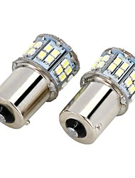 baratos -SO.K 2pcs 1156 Lâmpadas SMD LED 700-800lm Luz traseira For Universal
