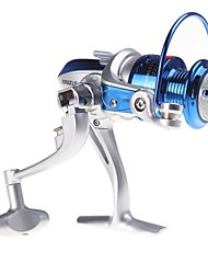 cheap -Fishing Reel Spinning Reels 5.1:1 8 Ball Bearings Left-handed Right-handed Exchangable Sea Fishing Spinning Freshwater Fishing