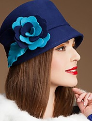 Women's Wool Headpiece-Wedding Special Occasion Casual Hats