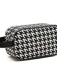 cheap -Travel Bag Travel Tote Travel Storage for Clothes Nylon / Plaid/Check Women's