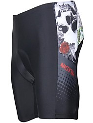 baratos -ILPALADINO Homens Bermudas Acolchoadas Para Ciclismo Moto Shorts / Shorts Acolchoados / Calças Tapete 3D, Resistente Raios Ultravioleta,