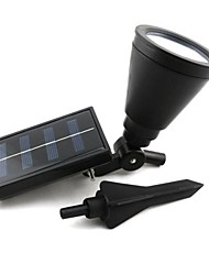 cheap -Outdoor Solar Power Spotlight Landscape Spot Light Garden Lawn Flood Lamp with 4 LED