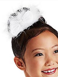 Недорогие -Аксессуары для танцев Украшения для волос Детские Учебный Атласные  Перья