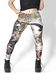 PinkQueen® Women's Spandex Dark Tercel War Leggings