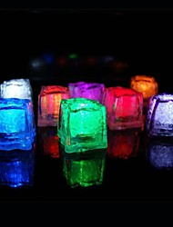 cheap -36pcs Color Changing Ice Cubes LED light Party Wedding Bar Restaurant