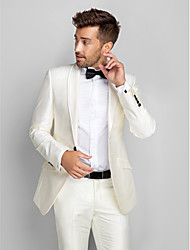 Tuxedos Slim Fit Shawl Collar Single Breasted One-button Polyester 2 Pieces