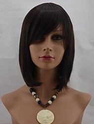 cheap -Women Synthetic Wig Short Straight 2/33 2/30H With Bangs Natural Wigs Costume Wig